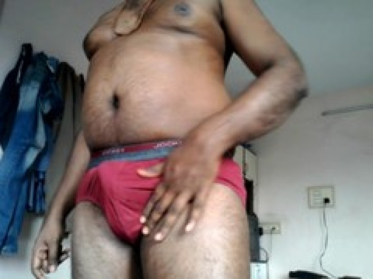 Indian fat gay man