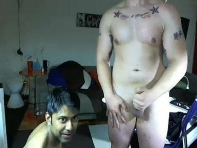 English and Indian gay man