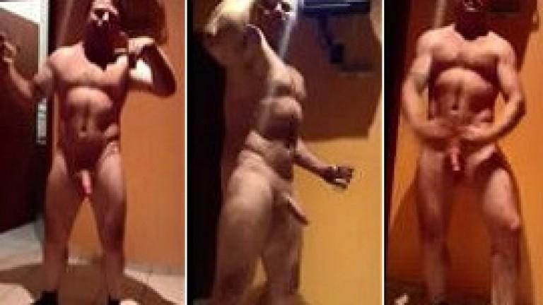 Indian Punjabi gym gay boy