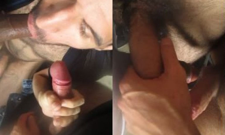 Group gay jerk & humping show by Indian Office Gays