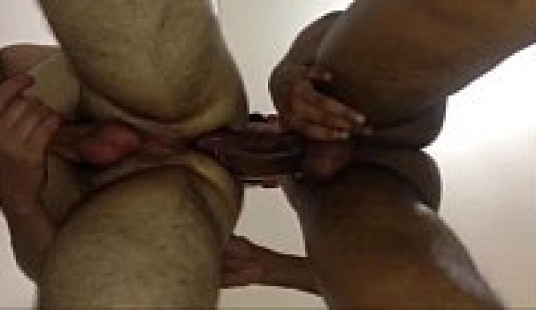 Gay sex bareback fucking by muscular big dick office colleagues