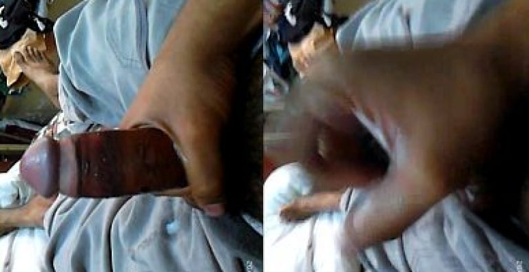 Bihari Village Indian desi gay worker wanks to cumshot twice