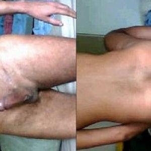 Teen Indian desi gay boy jerk & fuck bed blanket for gandu masti