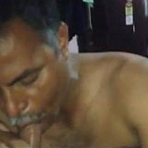 Baap beta xxx bf of Bihari gay Daddy sucks gandu Son dick