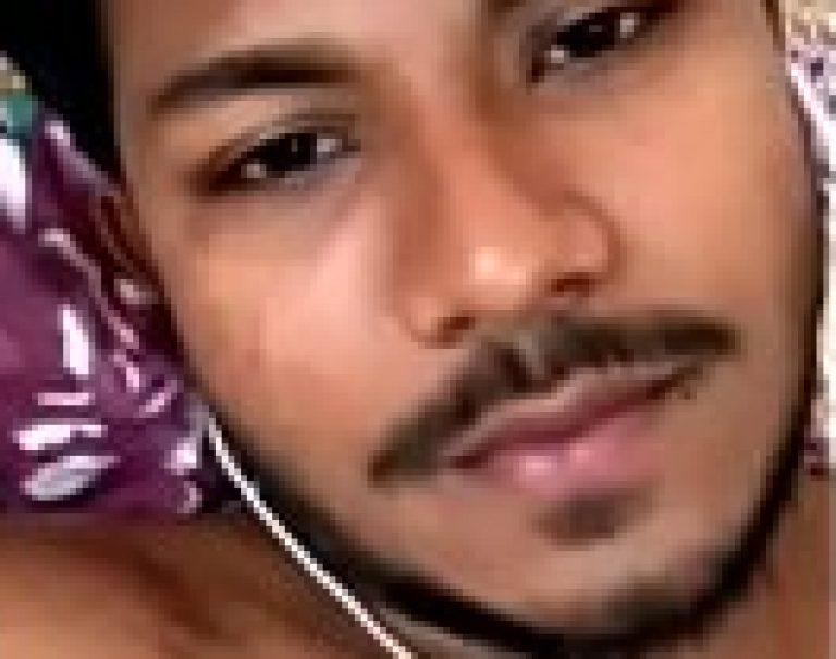 Big dick Indian gay desi guy wanks show at webcam