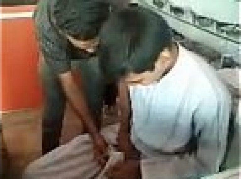 Gandu Baap Beta romantic Indian gay masti XXX at home