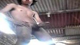 Indian teen boy masturbating hard on cam for his desi gay friend