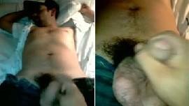 sleeping Indian gay