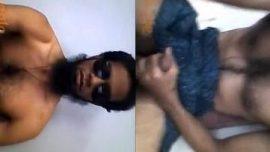 Pakistani Muslim desi gay man masturbate black lund in Lungi