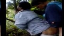 Kashmiri desi gay boys do Gaand Chudai in forest