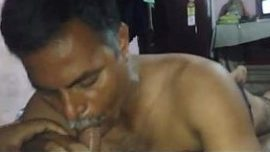 Baap beta xxx bf of Bihari gay Daddy sucks gandu Son dick