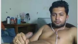 Gay Indian masturbating