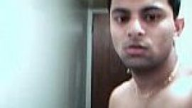 Indian gay Punjabi college student seduction and jerk off live webcam show