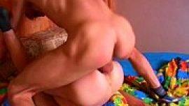 Neighbor gay boys enjoying anal fuck by deep ass drilling