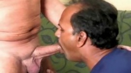 Indian gay tourist sucking