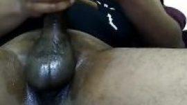 Indian gay XXX of Telugu gandu guy masturbate mota lund himself